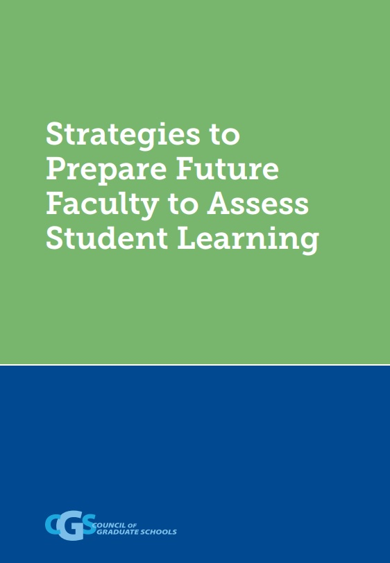 Strategies to Prepare Future Faculty to Assess Student Learning