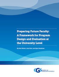 Preparing Future Faculty: A Framework for Program Design and Evaluation at the University Level